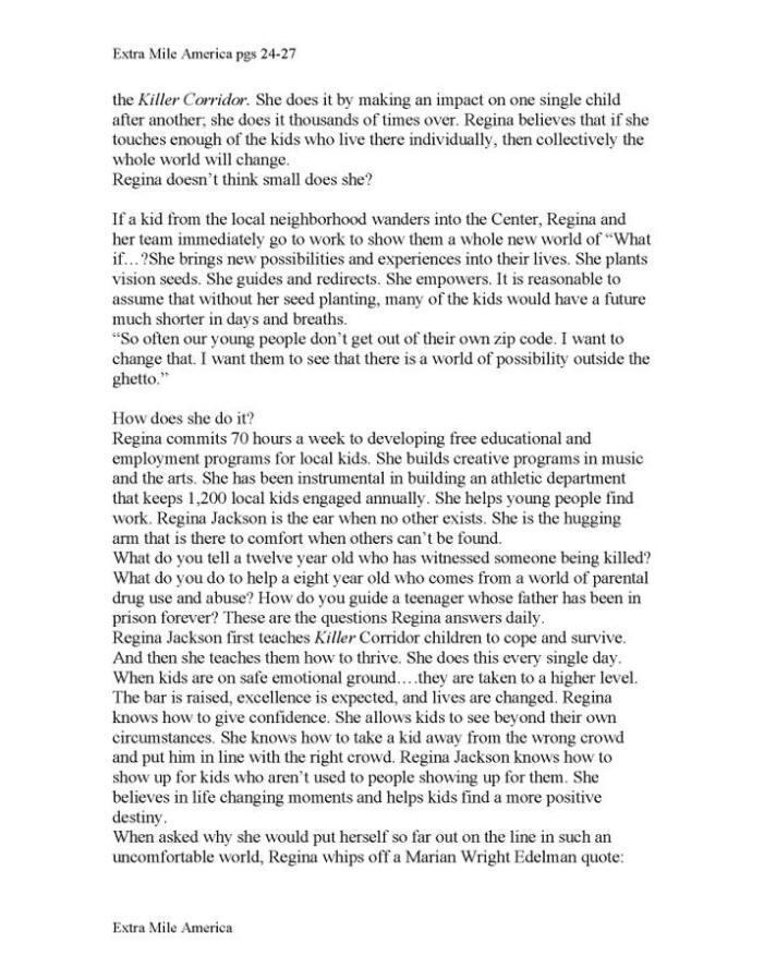 Extra Mile Hero Page 2