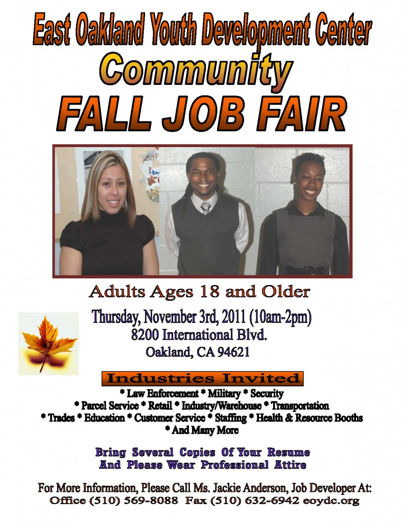 Community Fall Job Fair