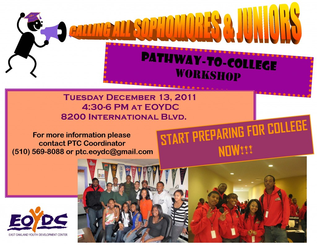 Pathway to College Workshop