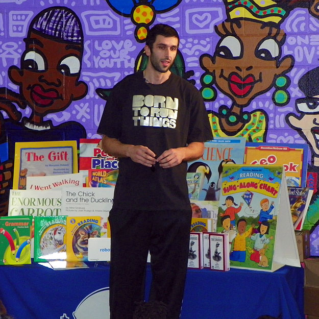 Vladimir Radmanovic with Books