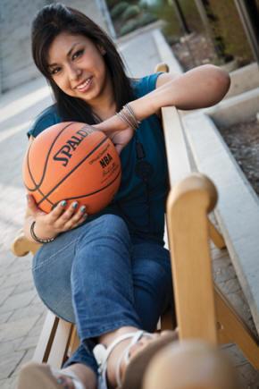 Alejandra Basketball